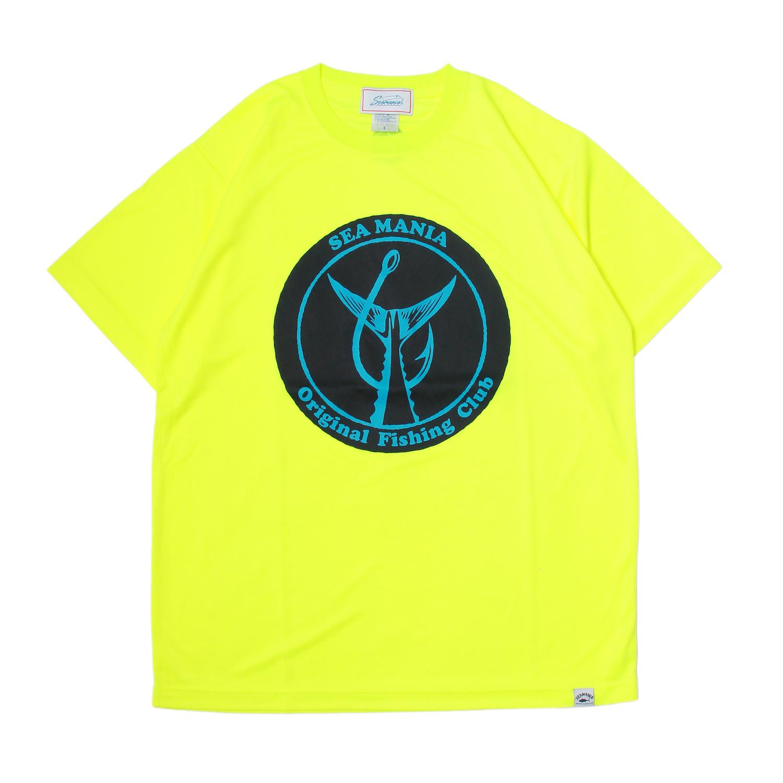 【Seamania】CIRCLE HOOK Dry UV Tシャツ [N.YEL]