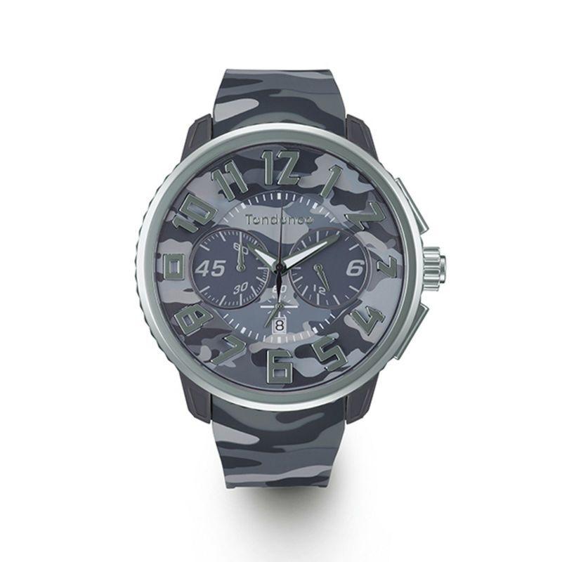 【Tendence テンデンス】TY046022 GULLIVER Round CAMO ガリバーラウンドカモ(グレー)/国内正規品 腕時計