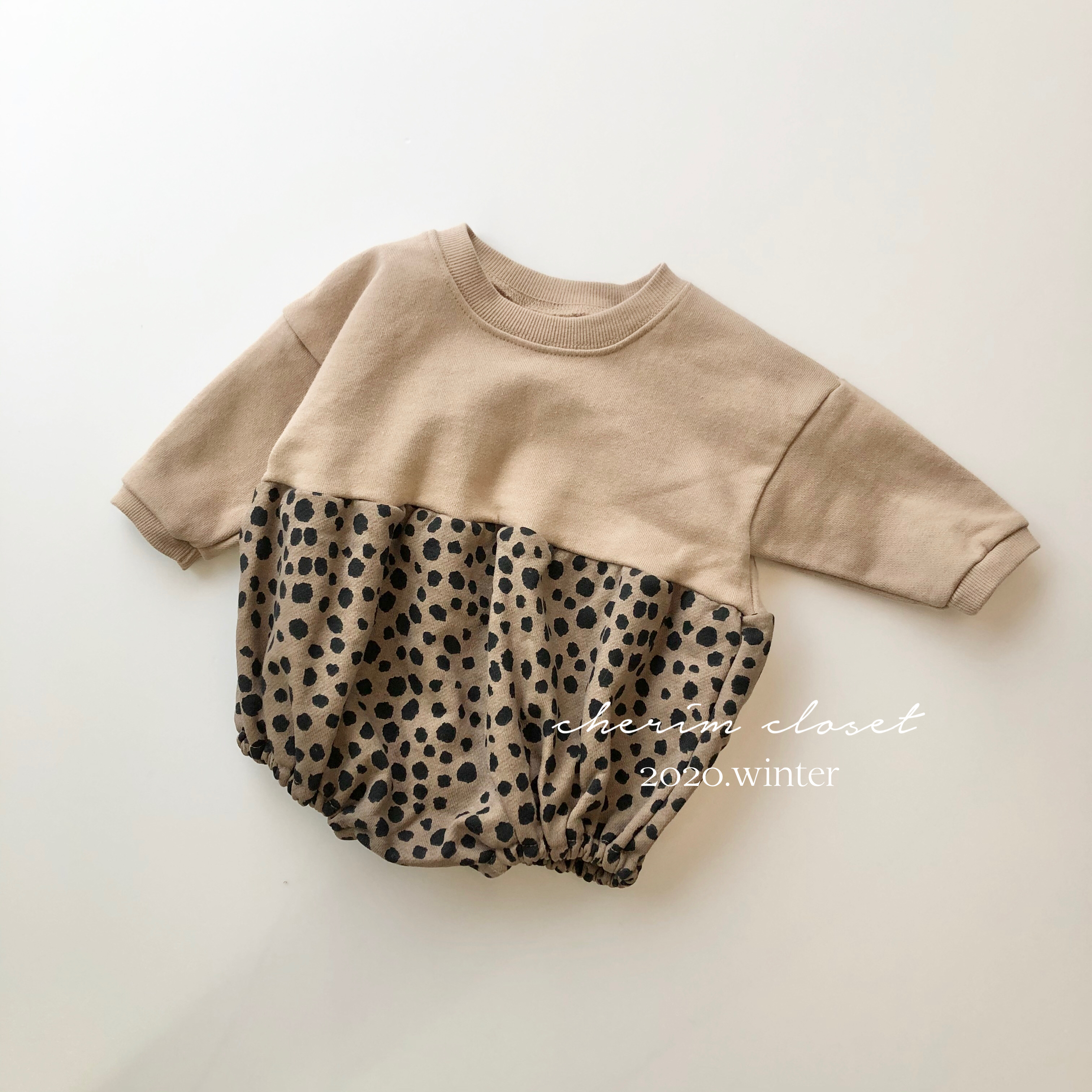 NO.949 leopard rompers