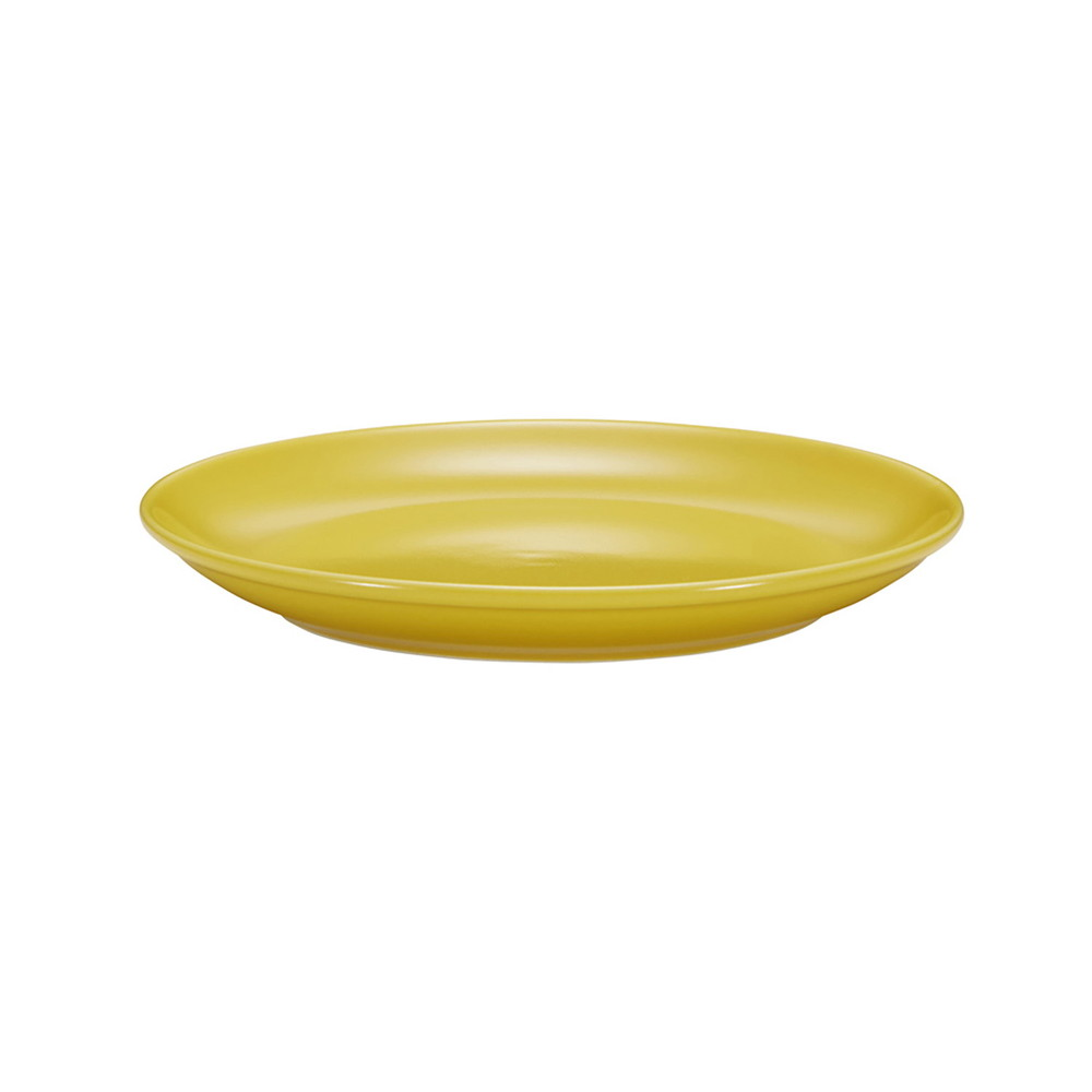 西海陶器 波佐見焼 「コモン」 プレート 皿 180mm イエロー 13208