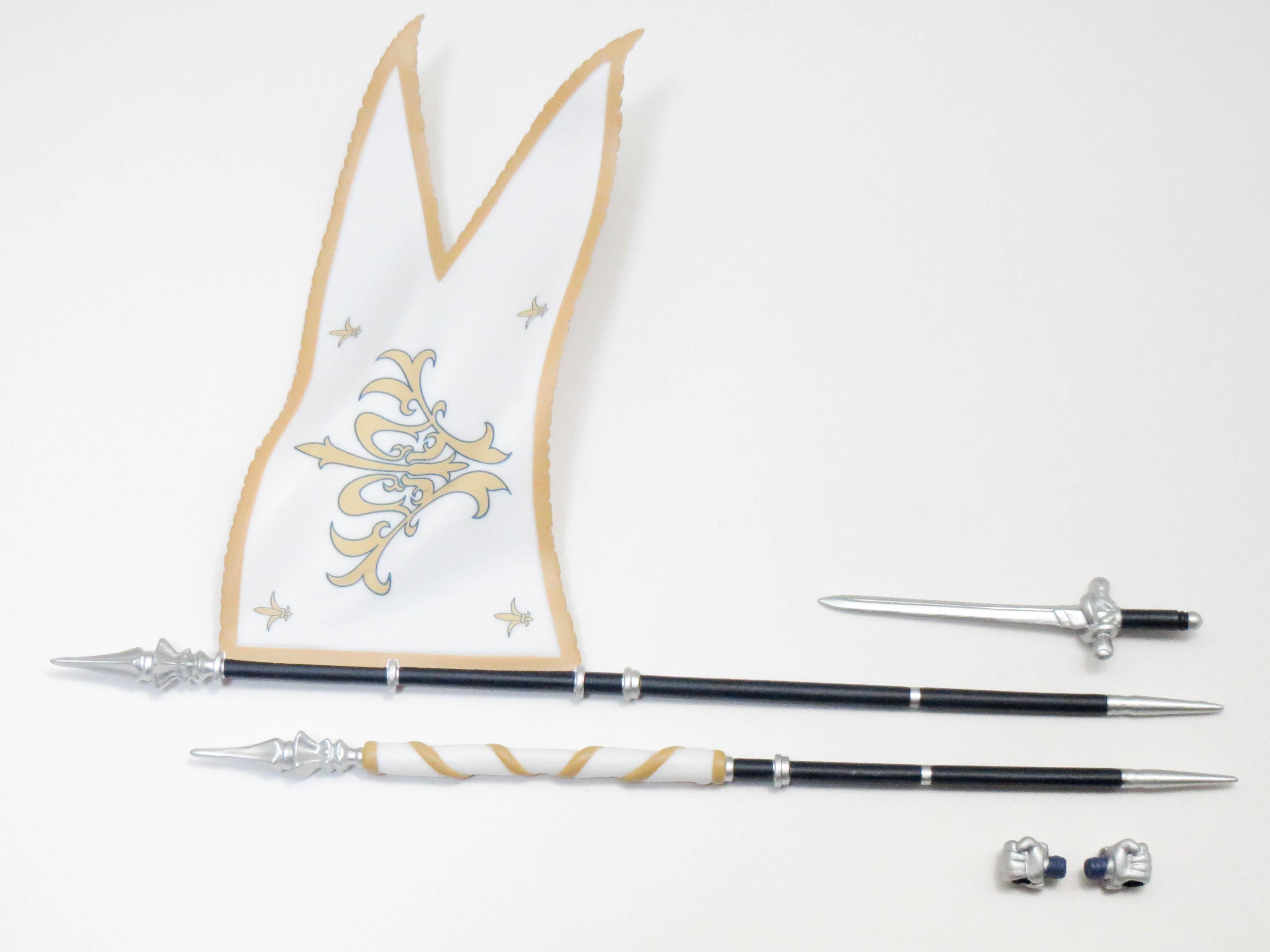 再入荷【650】 ジャンヌ・ダルク 小物パーツ 剣と大旗 ねんどろいど