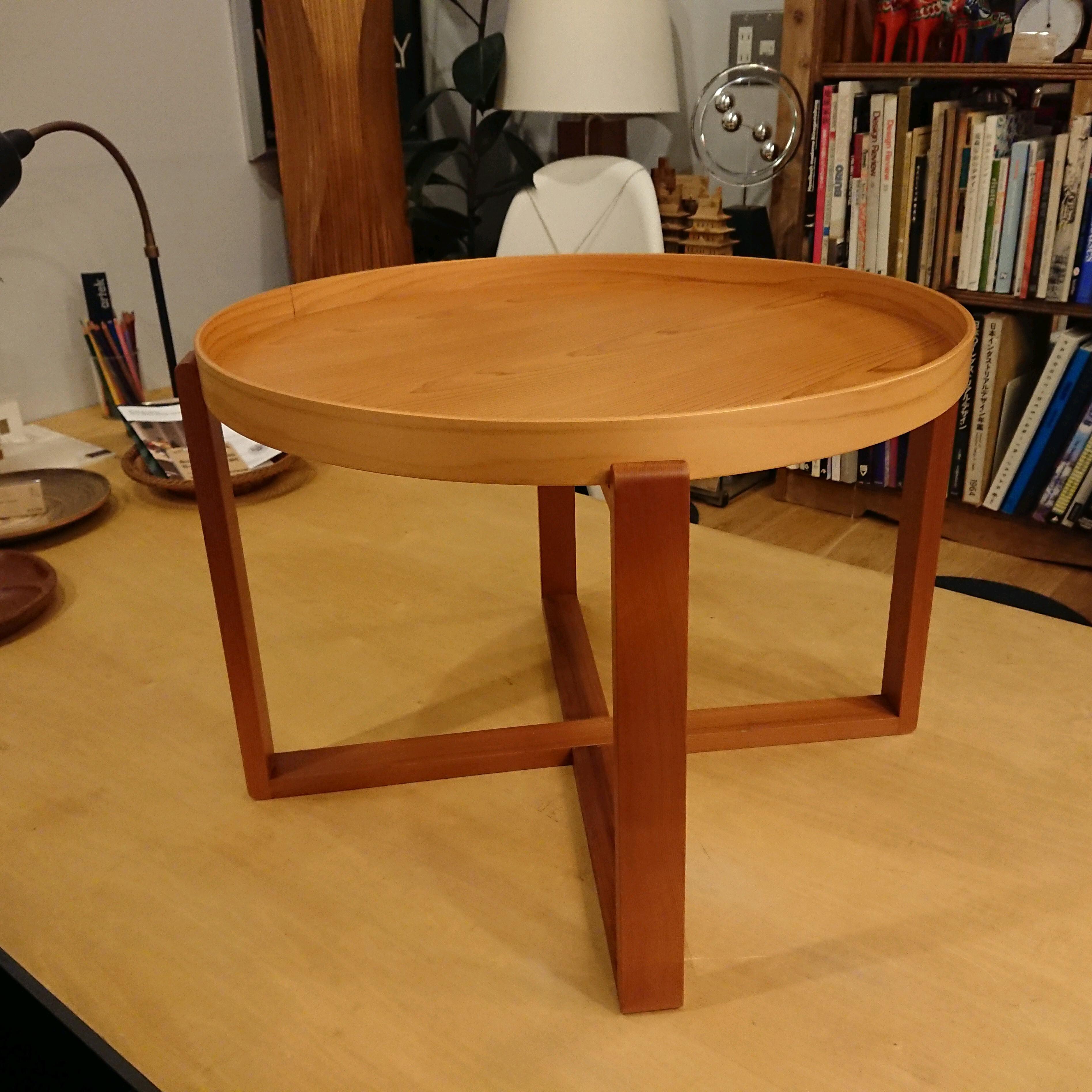 小泉誠 asahineko 曲輪テーブル 540 トレイテーブル 木曽ひのき