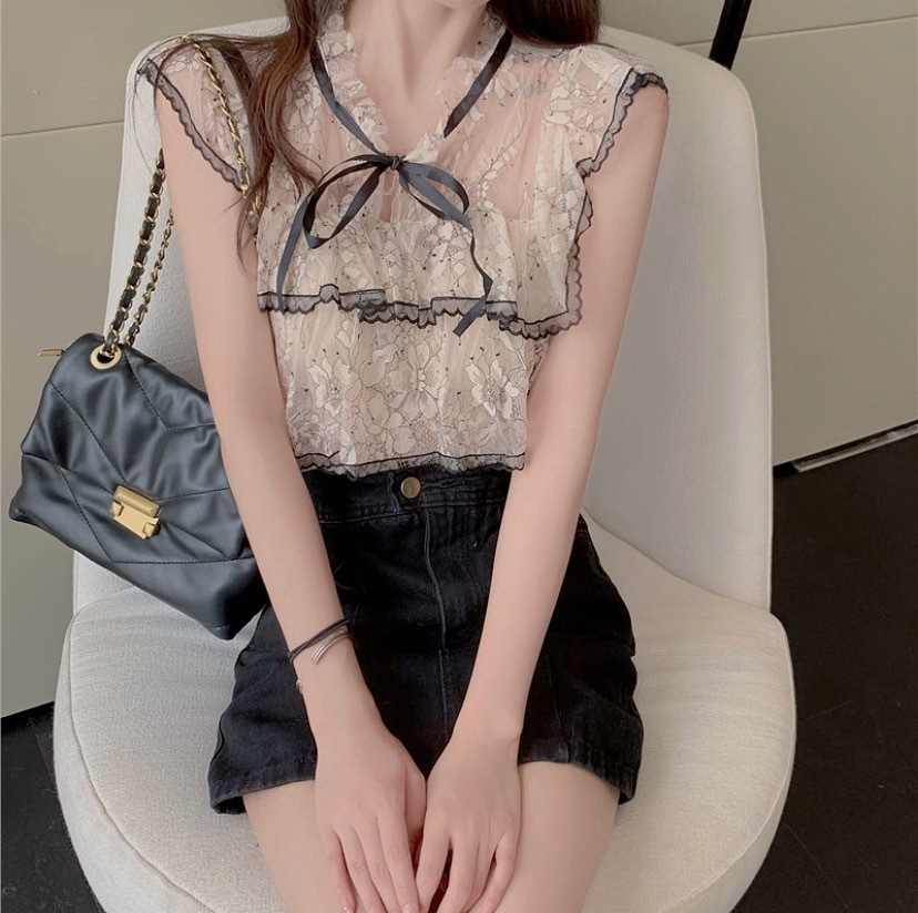 lady lace tops