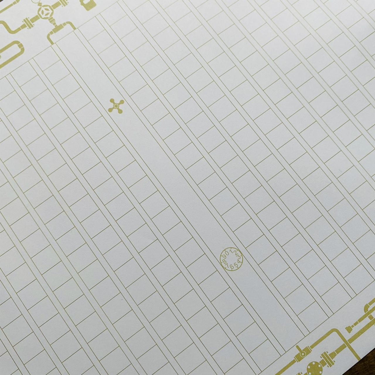 飾り原稿用紙「鍮導管」(限定柄・限定色)