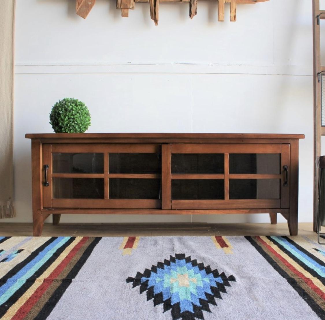 Mindy Wood TV Board 1200 / 北欧アンティークスタイル 木製 テレビ台 120cm
