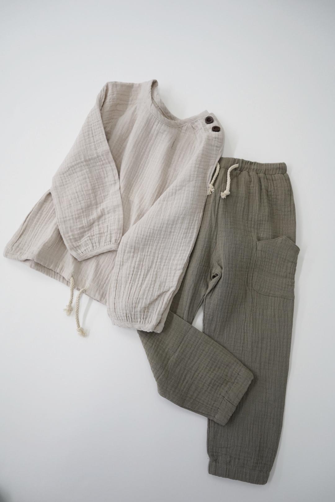 The Enchanted Label / Muslin Pants