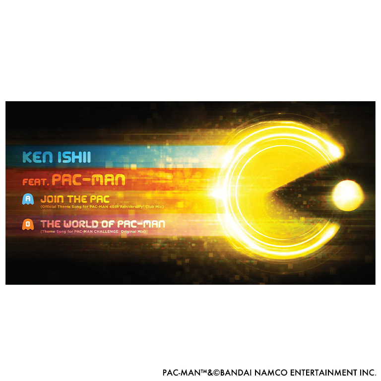 JOIN THE PAC - KEN ISHII feat. PAC-MAN【7inch EP】 - 画像5