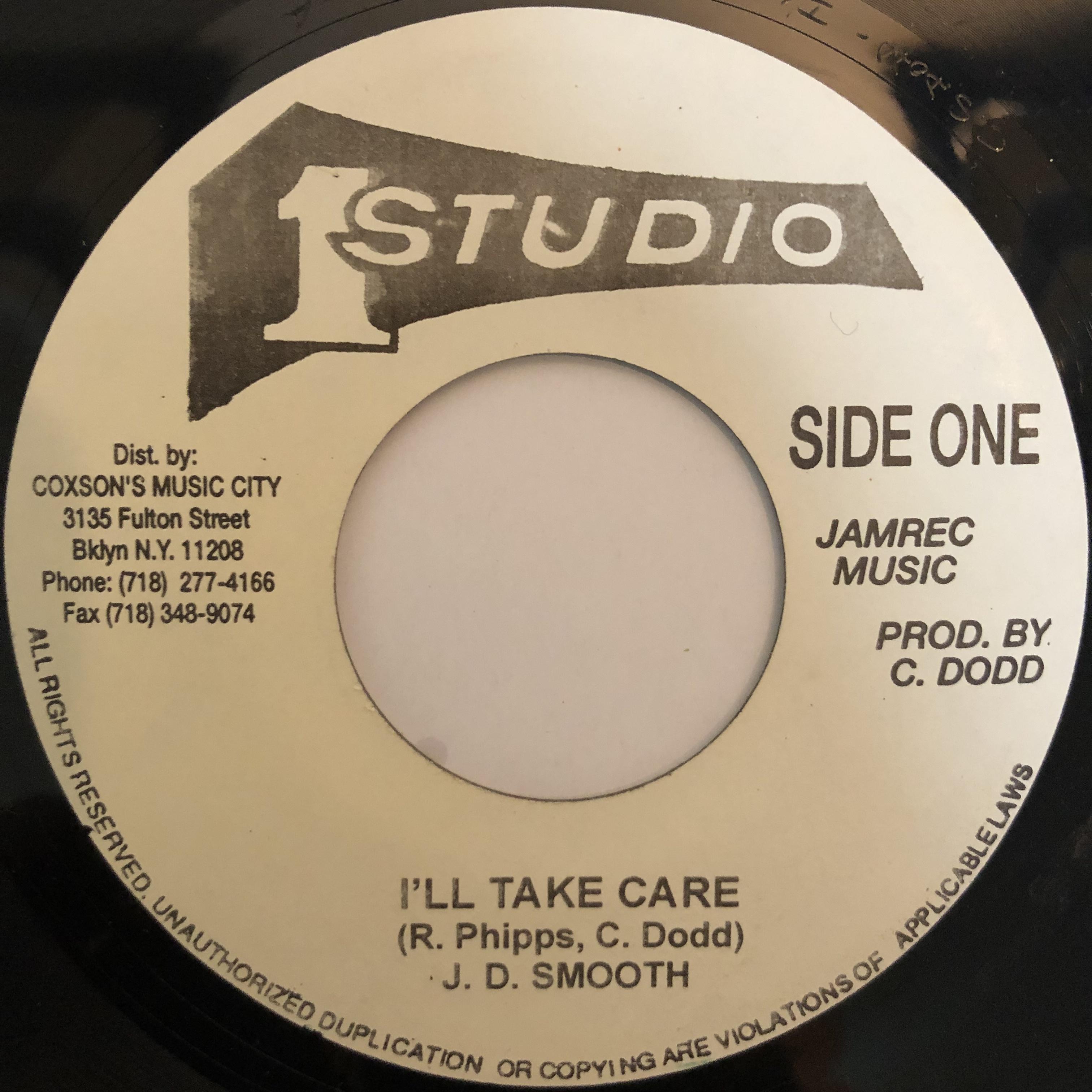 JD Smooth(JDスムース) - I'll Take Care【7-20277】