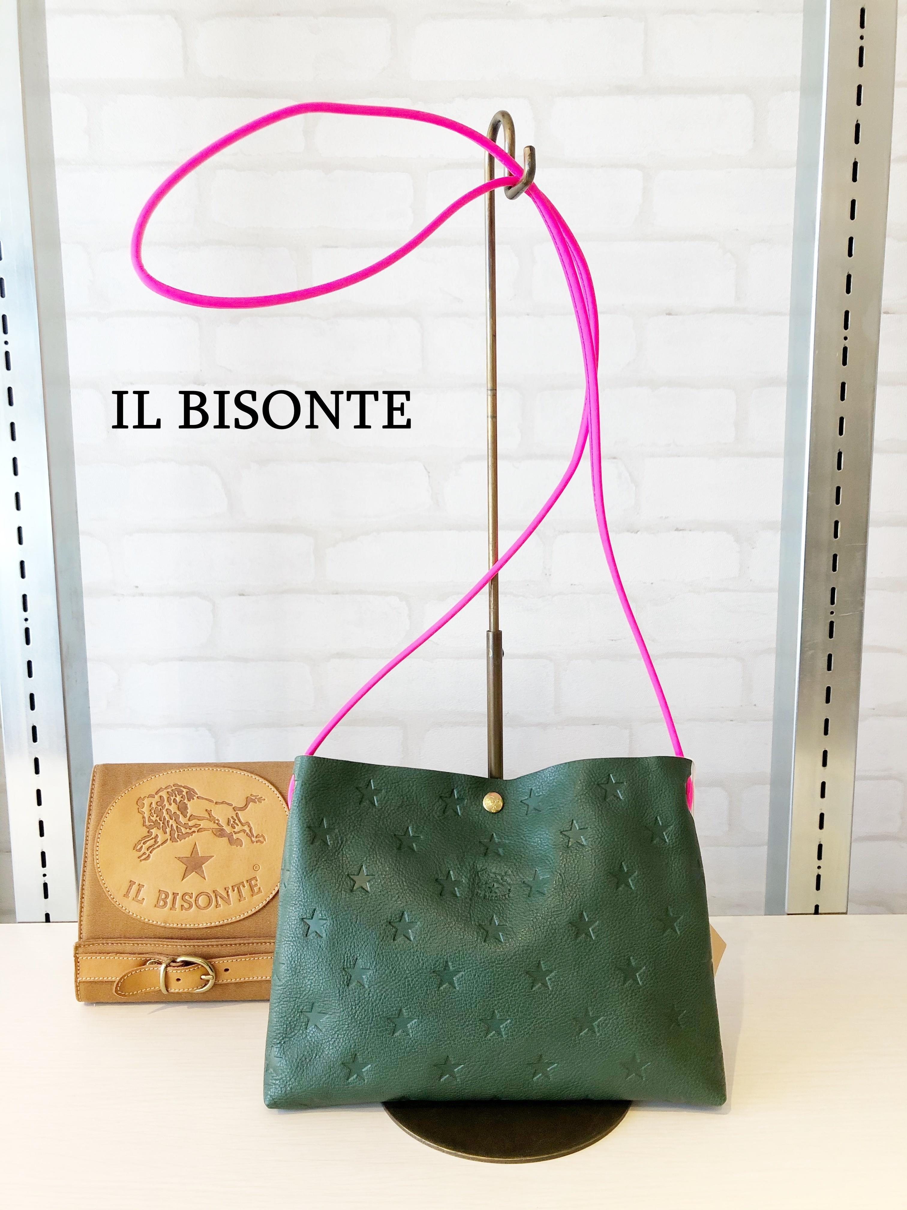 【日本限定】IL BISONTE(イルビゾンテ)/ショルダーバッグ/04211(グリーン)