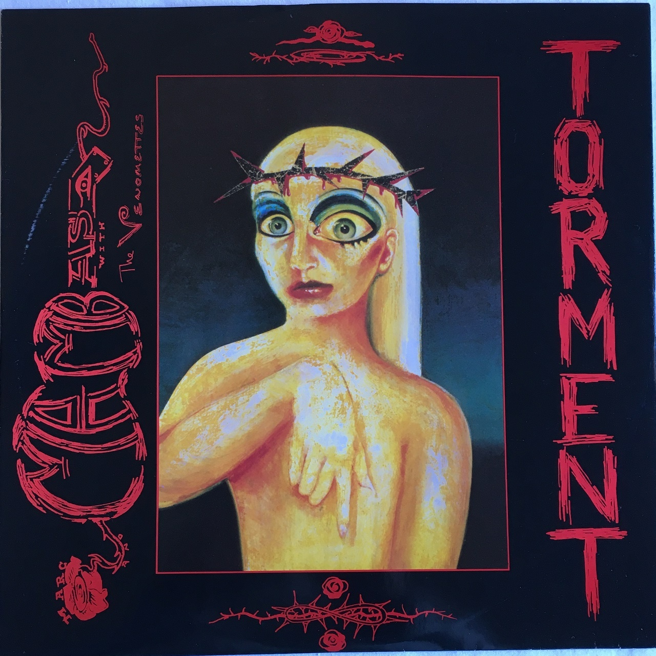 【12inch・英盤】Marc And Mambas  with The Venomettes  /  Torment