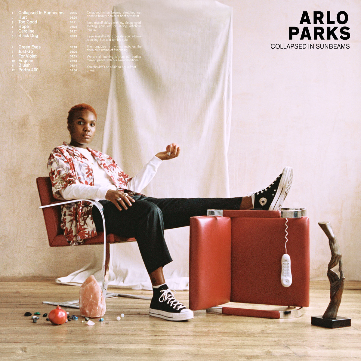 Arlo Parks / Collapsed in Sunbeams(Yellow Mustard LP)
