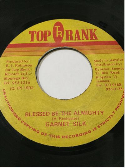 Garnett Silk (ガーネットシルク) - Blessed Be The Almighty【7'】
