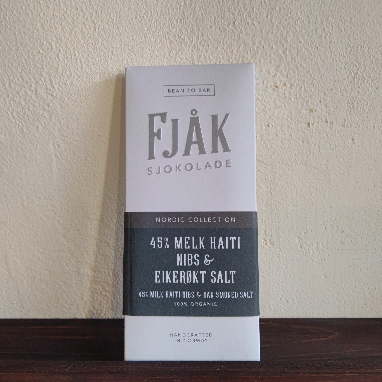 【FJAK/フョーク】45%ミルク ニブ&スモークソルト