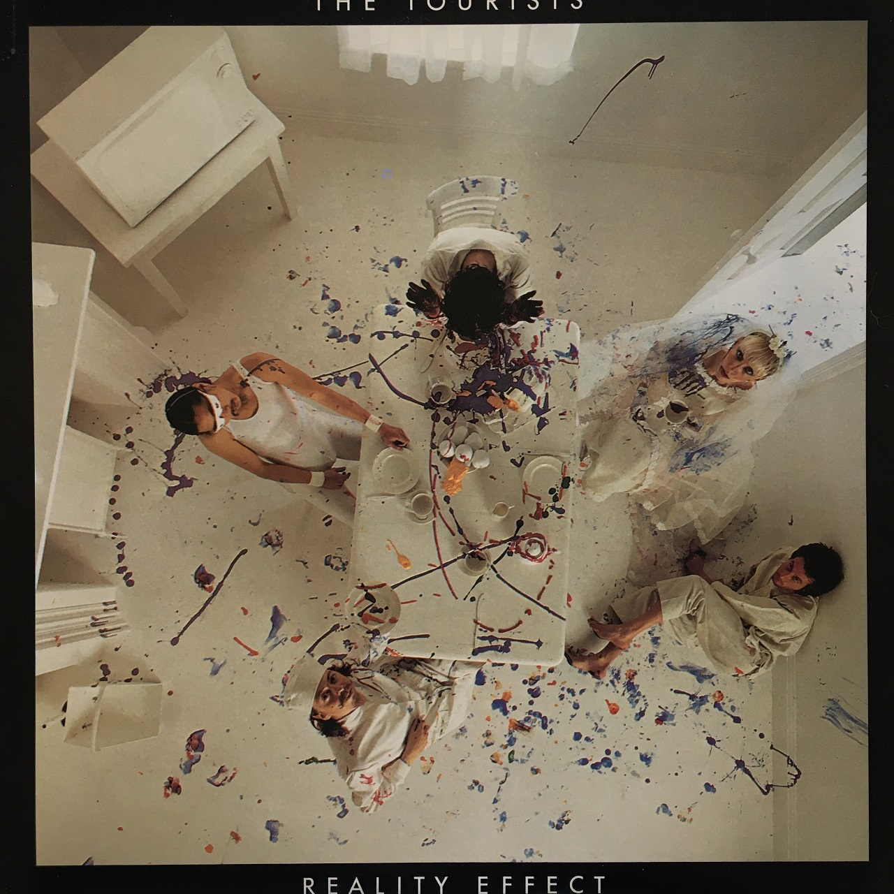 【LP・米盤】The Tourists / Reality Effect