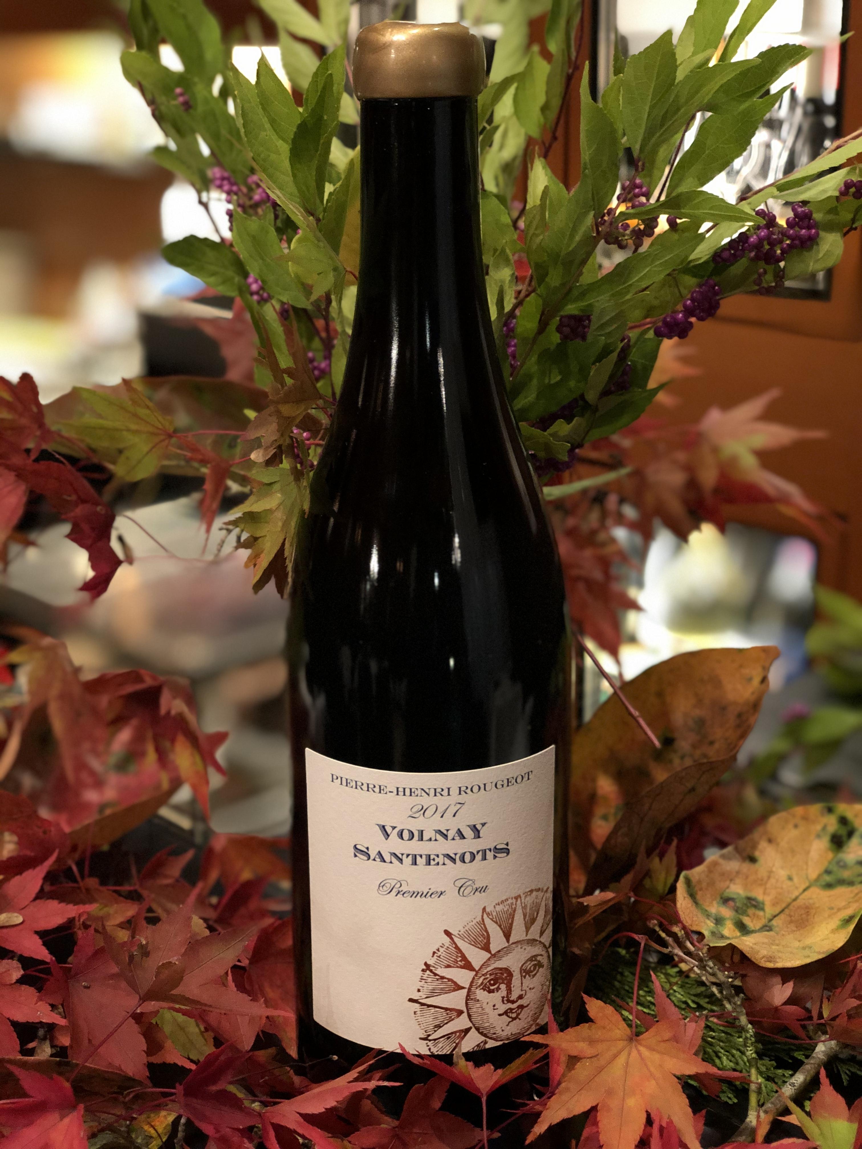 2017年 ヴォルネィ サントノ プルミエクリュ Pierre Henri Rougeot 赤ワイン