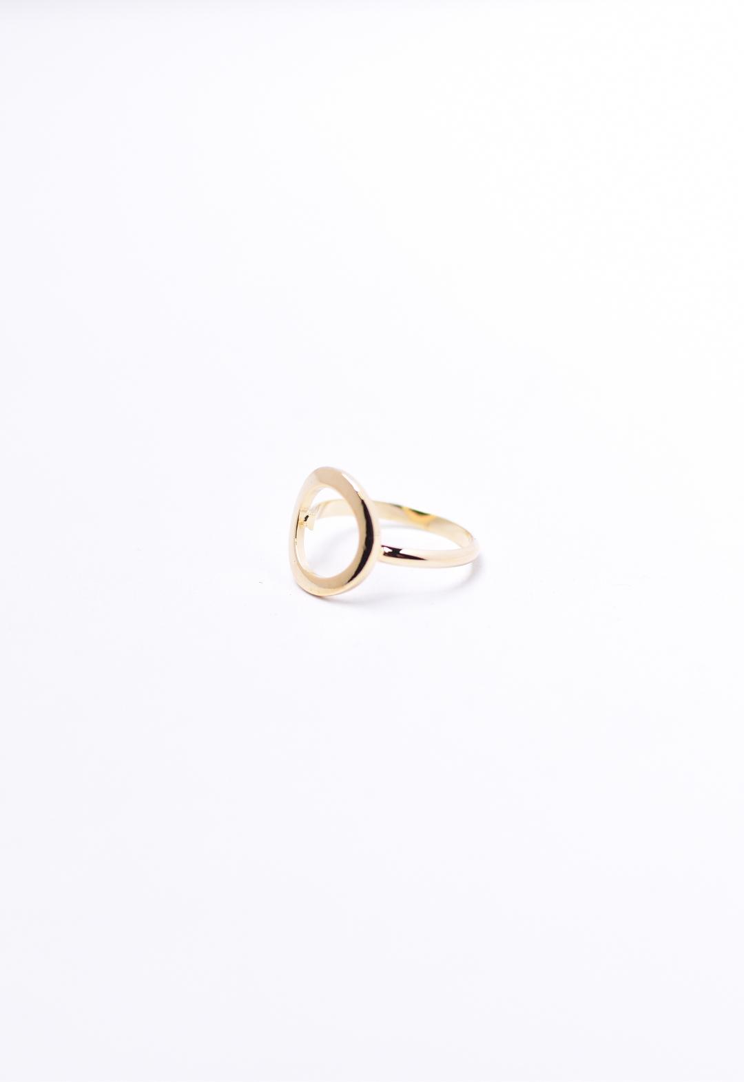 circle ring /gold