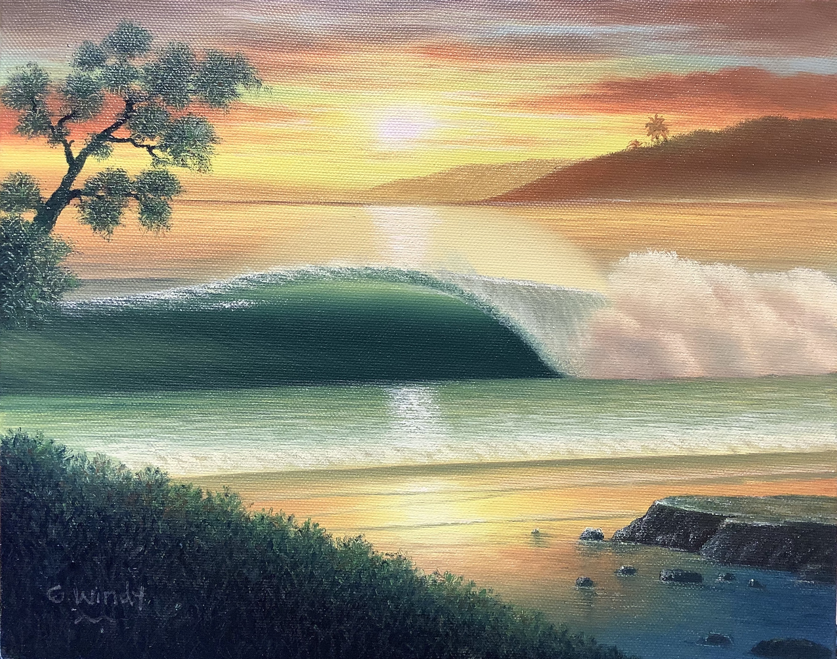 Dreamland Wave Art F3 with Pohon Matsu