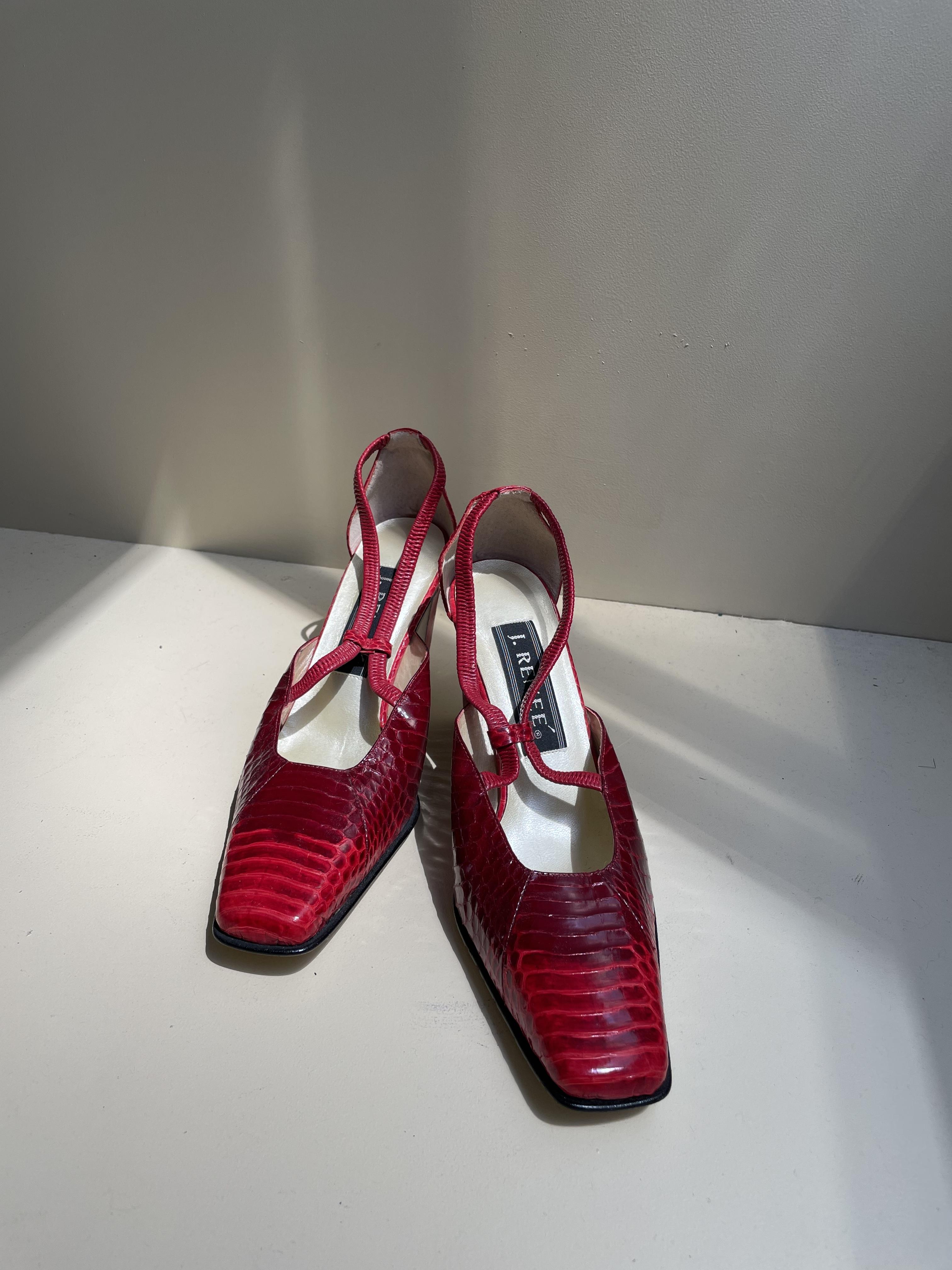 crocodile shoes / 7SSGD20-19