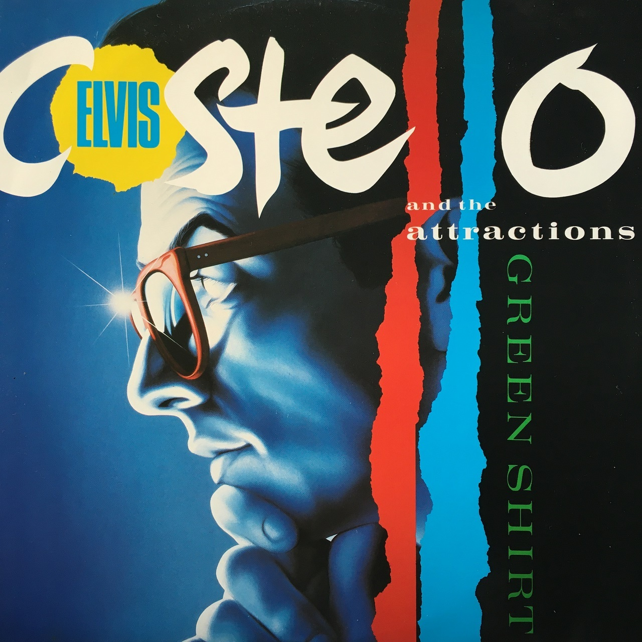 【12inch・英盤】Elvis Costello & the Attractions / Green Shirt