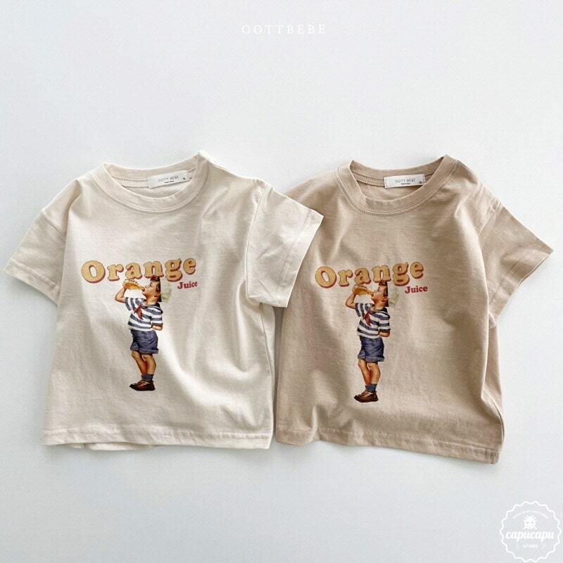 «sold out» orang juice T shirt 2colors オレンジジュースTシャツ