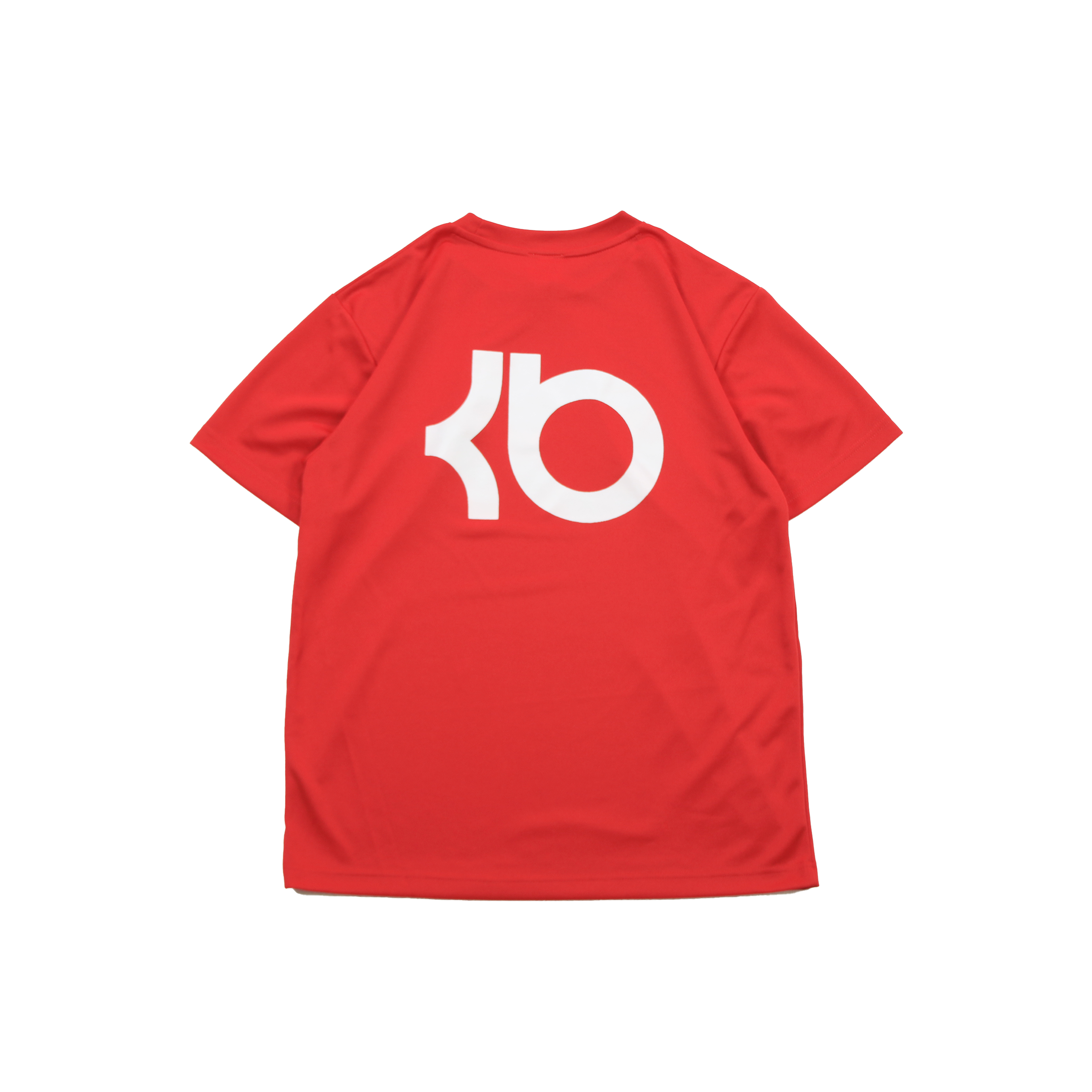 KB Training Day DRY TEE. [RED/WHITE]