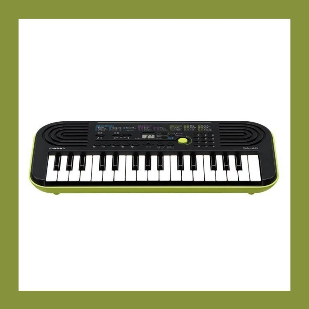 【CASIO】カシオ ミニキーボード SA-46 32ミニ鍵盤 カシオトーン 新品