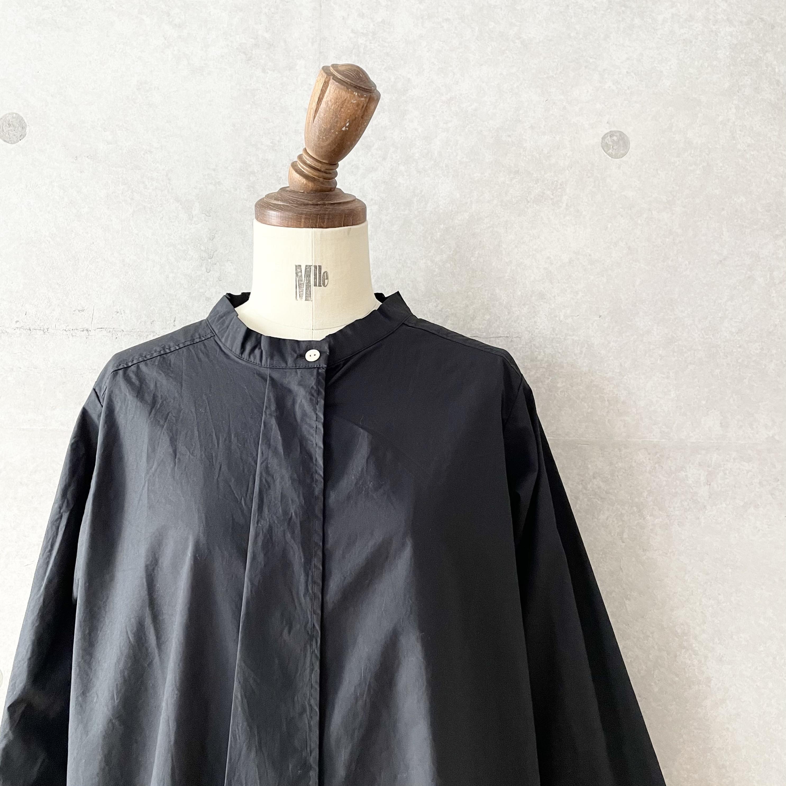 sortecuff フライフロントスタンドシャツ