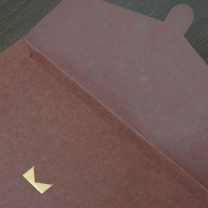 【シンプル茶】A4クリアケースも入る紙製バッグ BSE01CB