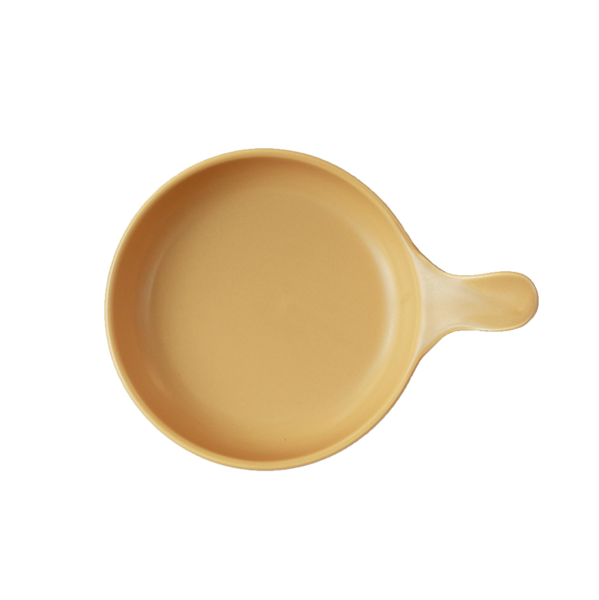 sowaca フライパンS 【イエロー】(耐熱陶器・プレート)