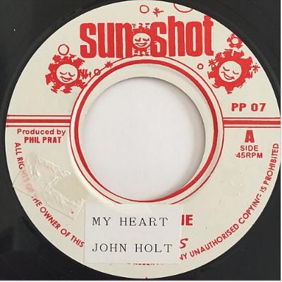 John Holt(ジョンホルト) - My Heart Is Gone【7'】