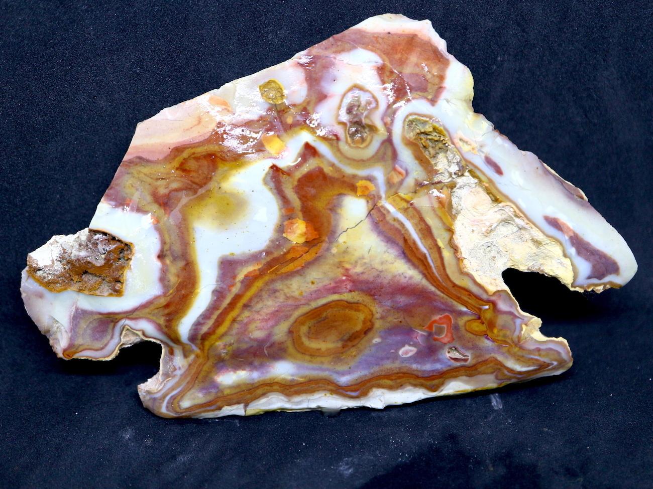 ※SALE※レインボー カルセドニー 211g RCR004 玉髄 鉱物 原石 天然石 パワーストーン