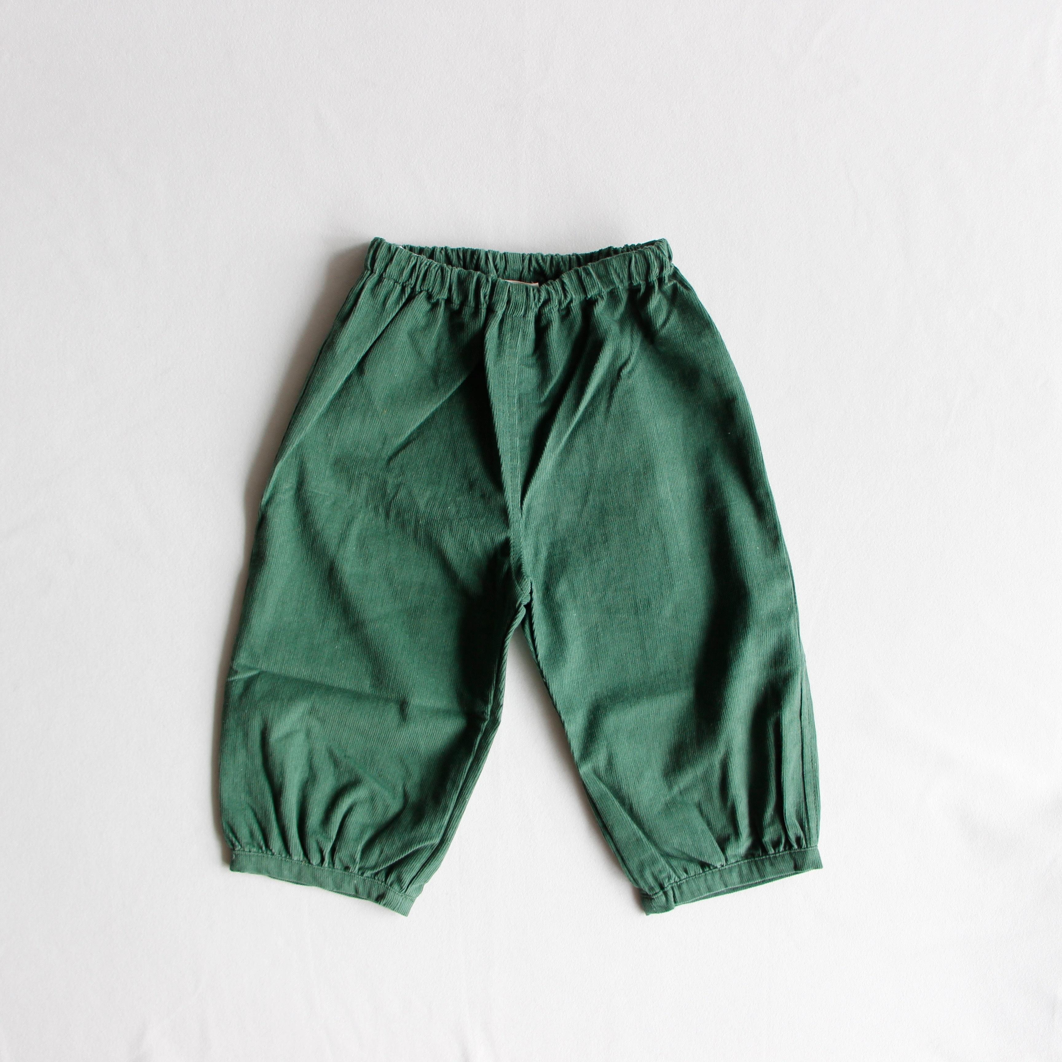 《AS WE GROW 2018AW》Bubble Pants / green