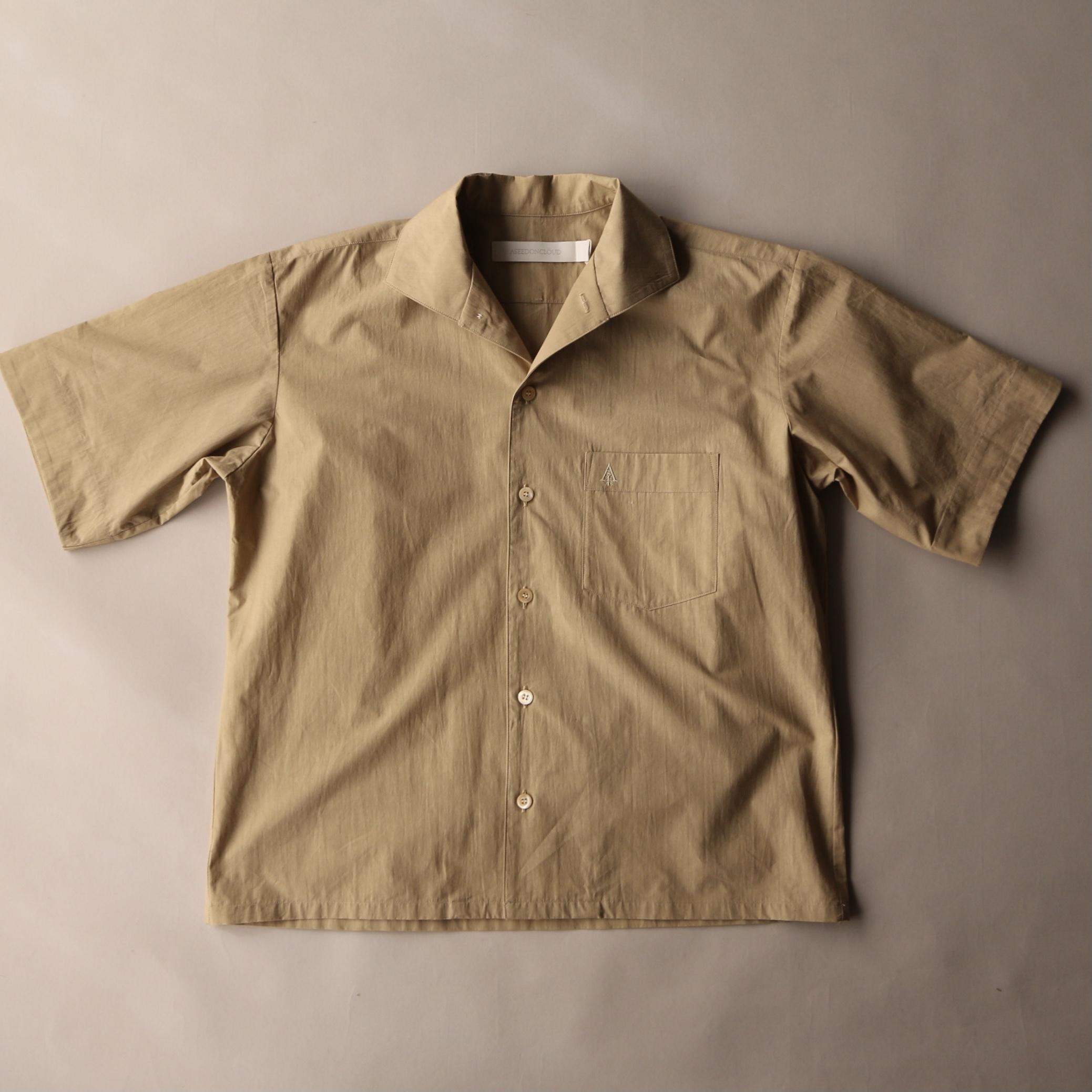 ASEEDONCLOUD アシードンクラウド Sakurashi blouse Beige Camouflage cloth #211609
