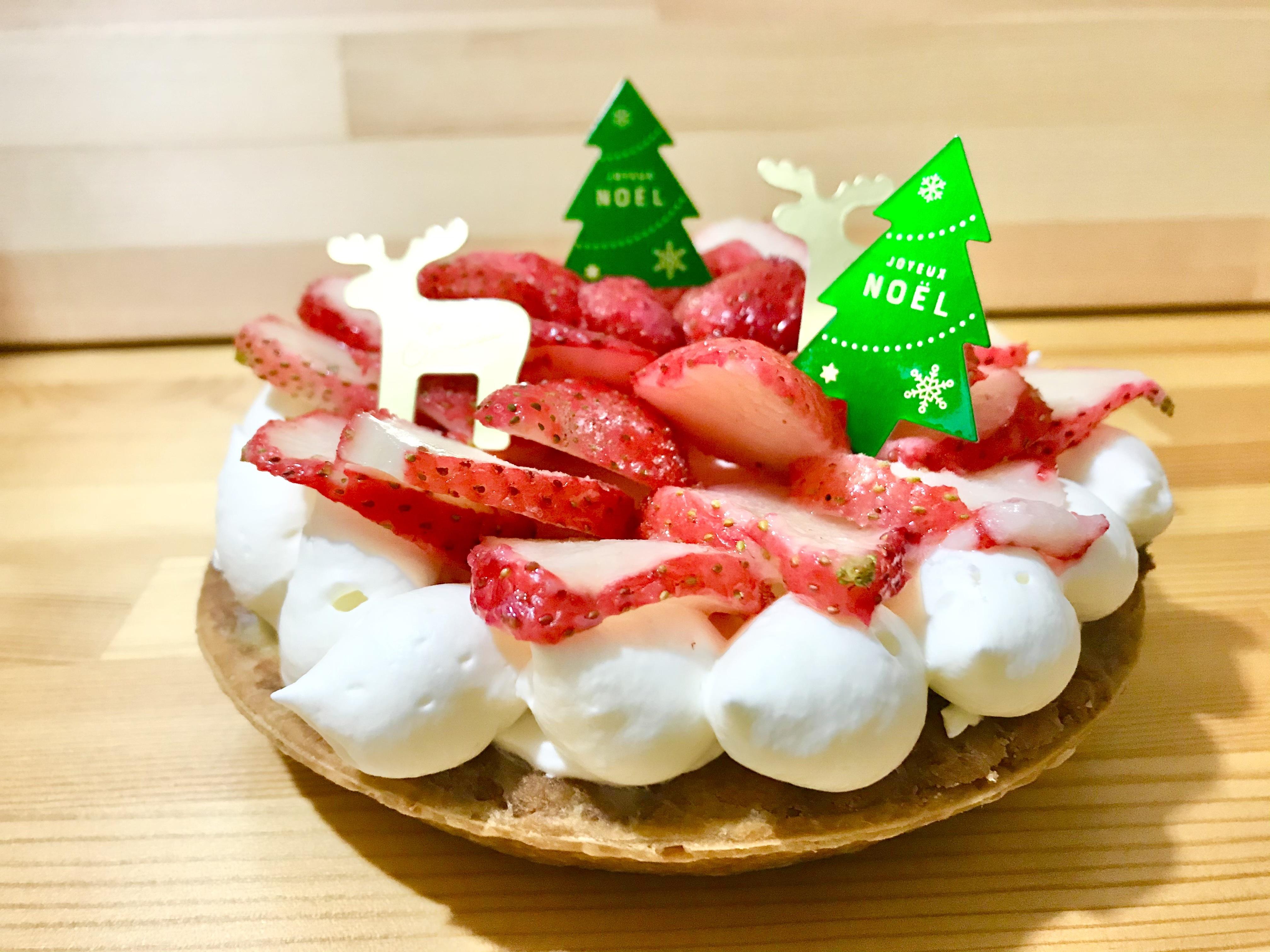 クリスマスケーキ (苺チーズタルト) 15㎝ホール