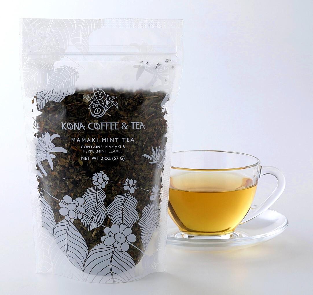 KONA COFFEE AND TEA@ ママキミントティー 2oz.《57g》3日ぐらいお届け