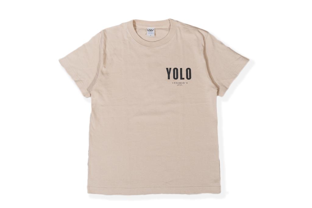 【YOLO surf T-shirt】/ sand beige
