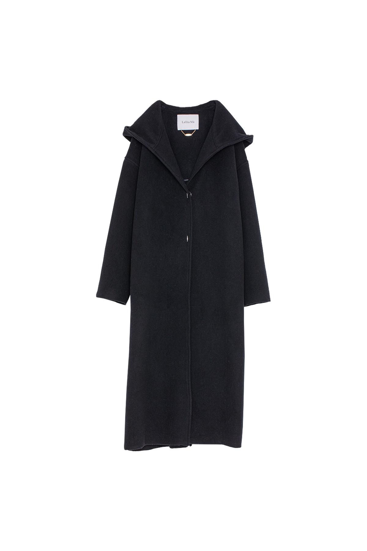 ロングフードコート< black >