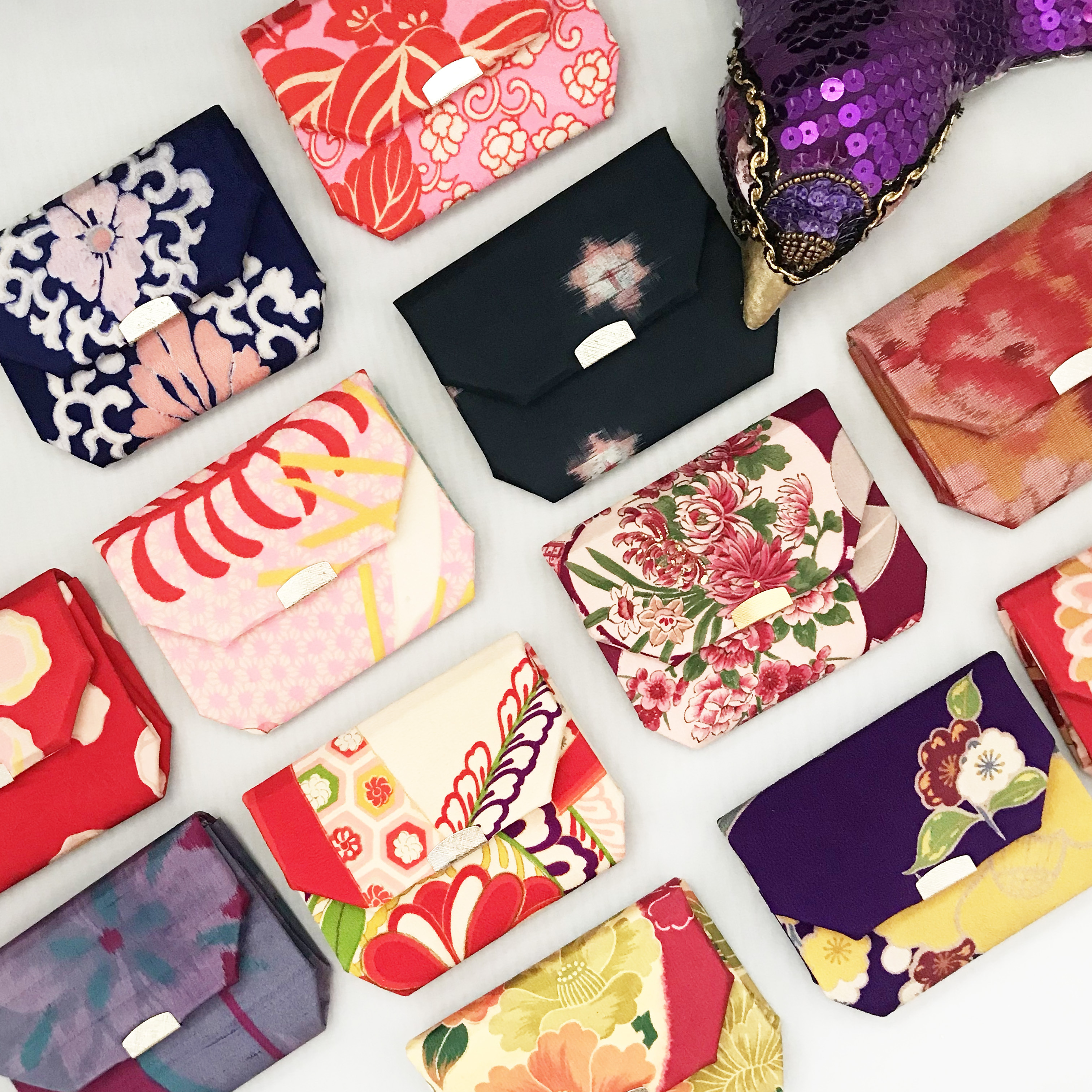 Popping Wallet (packet size)  〜折り財布〜