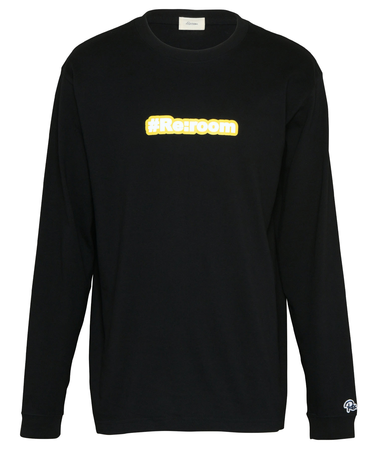 LOGO REFLECTOR PRINT LONG SLEEVE[REC449]