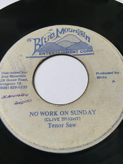 Tenor Saw (テナーソウ) - No Work On A Sunday【7'】