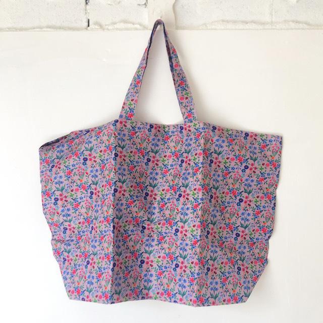 Nathalie Lete Pocketable Eco Bag Liberty ナタリーレテ エコバッグ 花柄