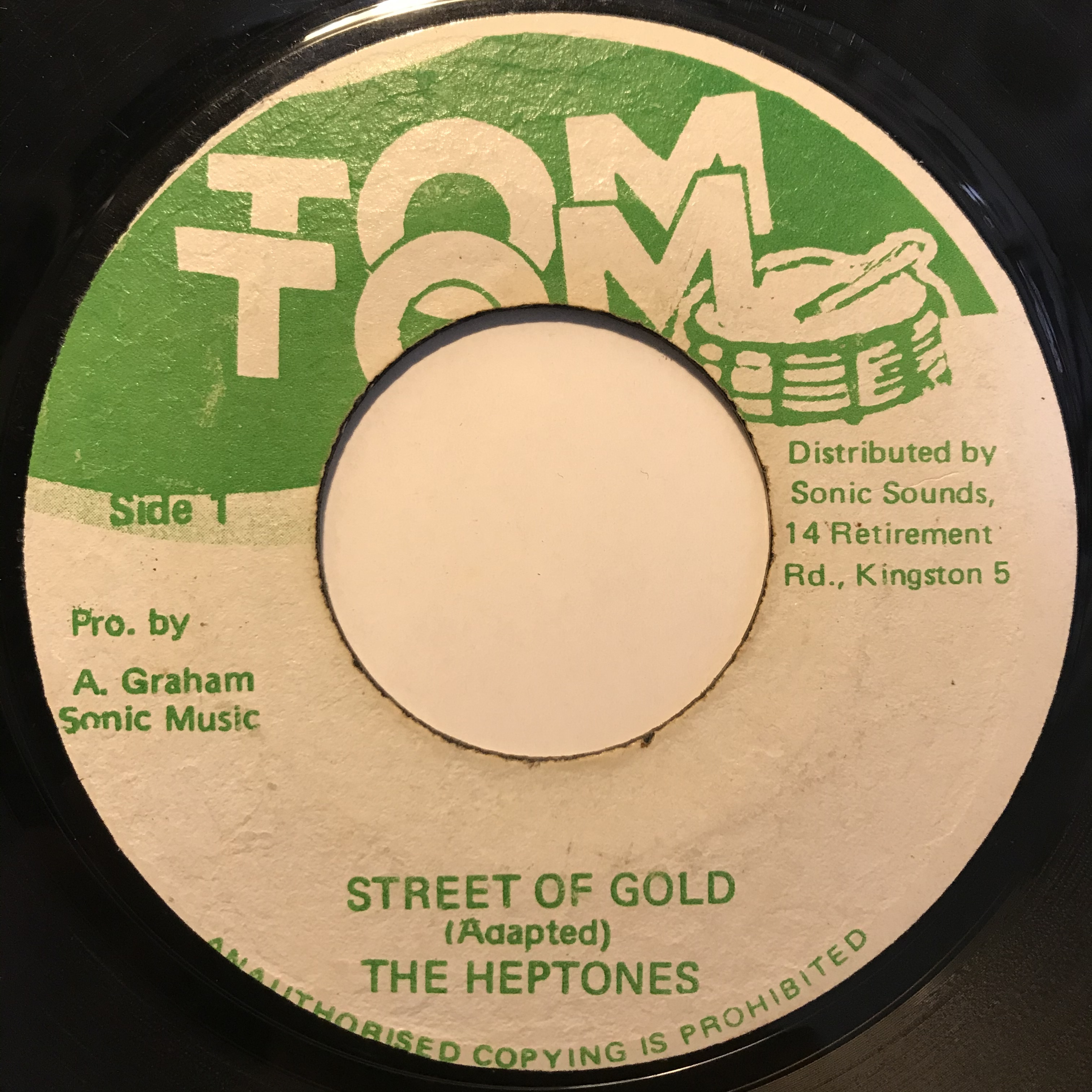 The Heptones - Street Of Gold【7-10817】