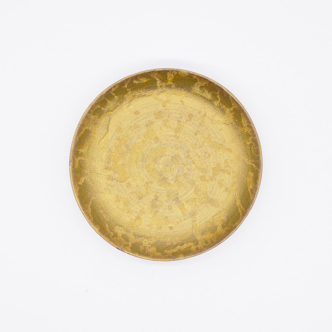 【限定1点 アウトレット品】有田焼 小皿 麟-Rin- ゴールド 252564 豆豆市024