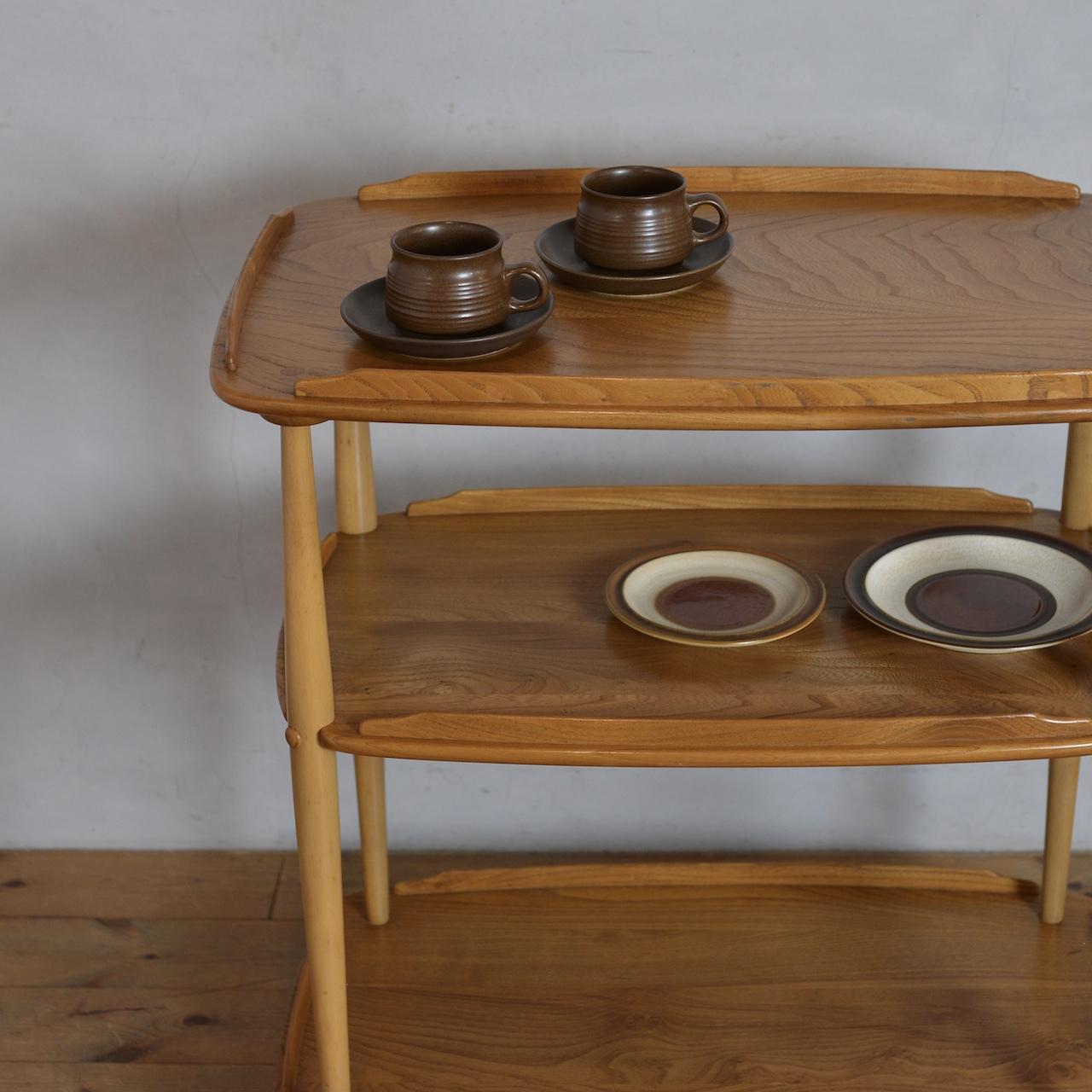 Ercol Trolley Wagon  / アーコール トロリー ワゴン 〈カフェ・テーブル・ティーテーブル・店舗什器〉