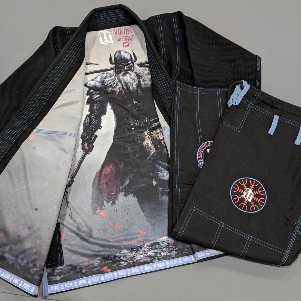 WAR TRIBE GEAR VIKING GI ブラック ブラジリアン柔術衣
