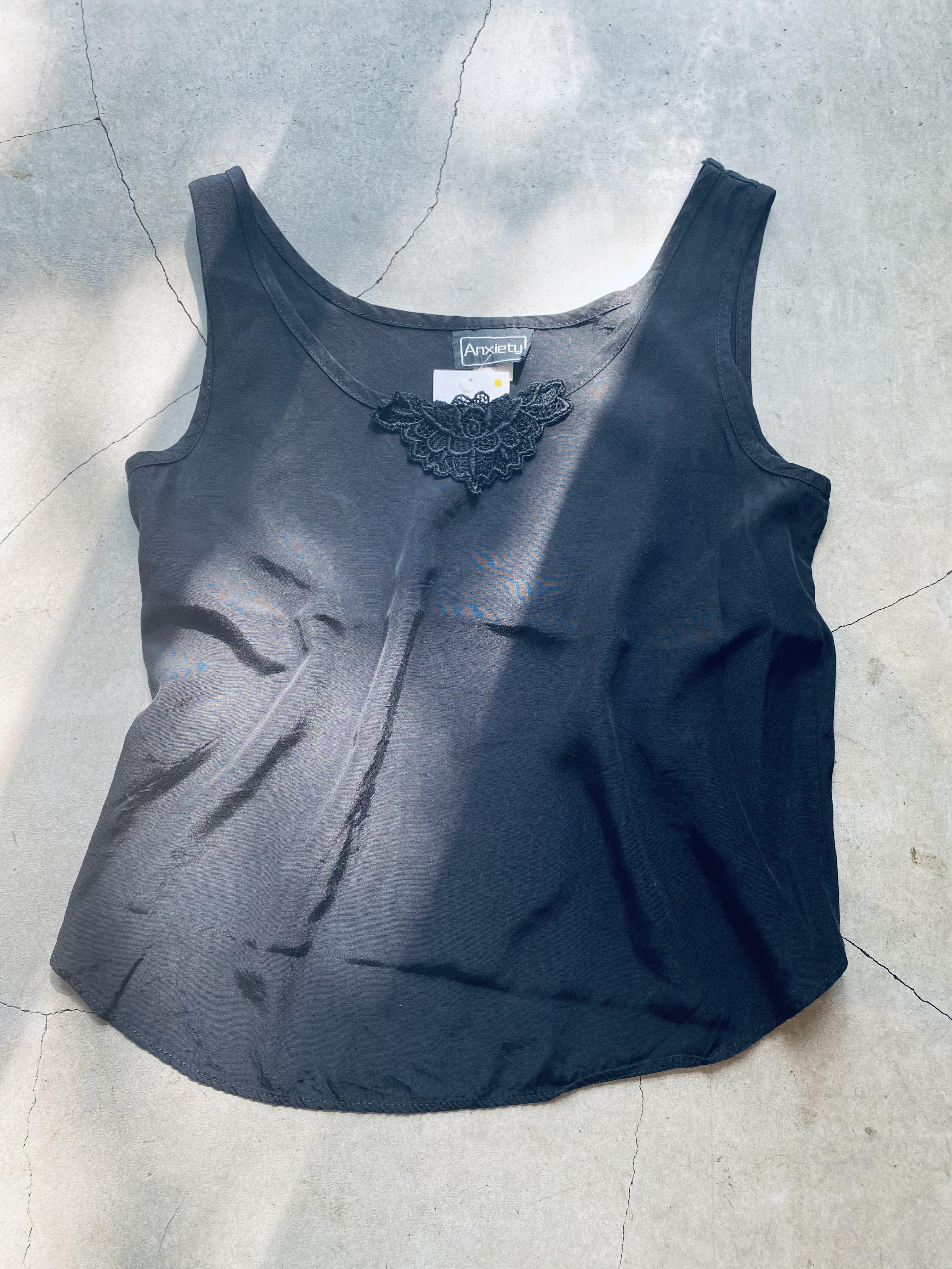 vintage sleeveless tops