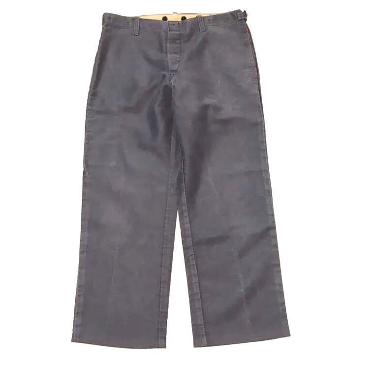 60's German Moleskin Work Pants