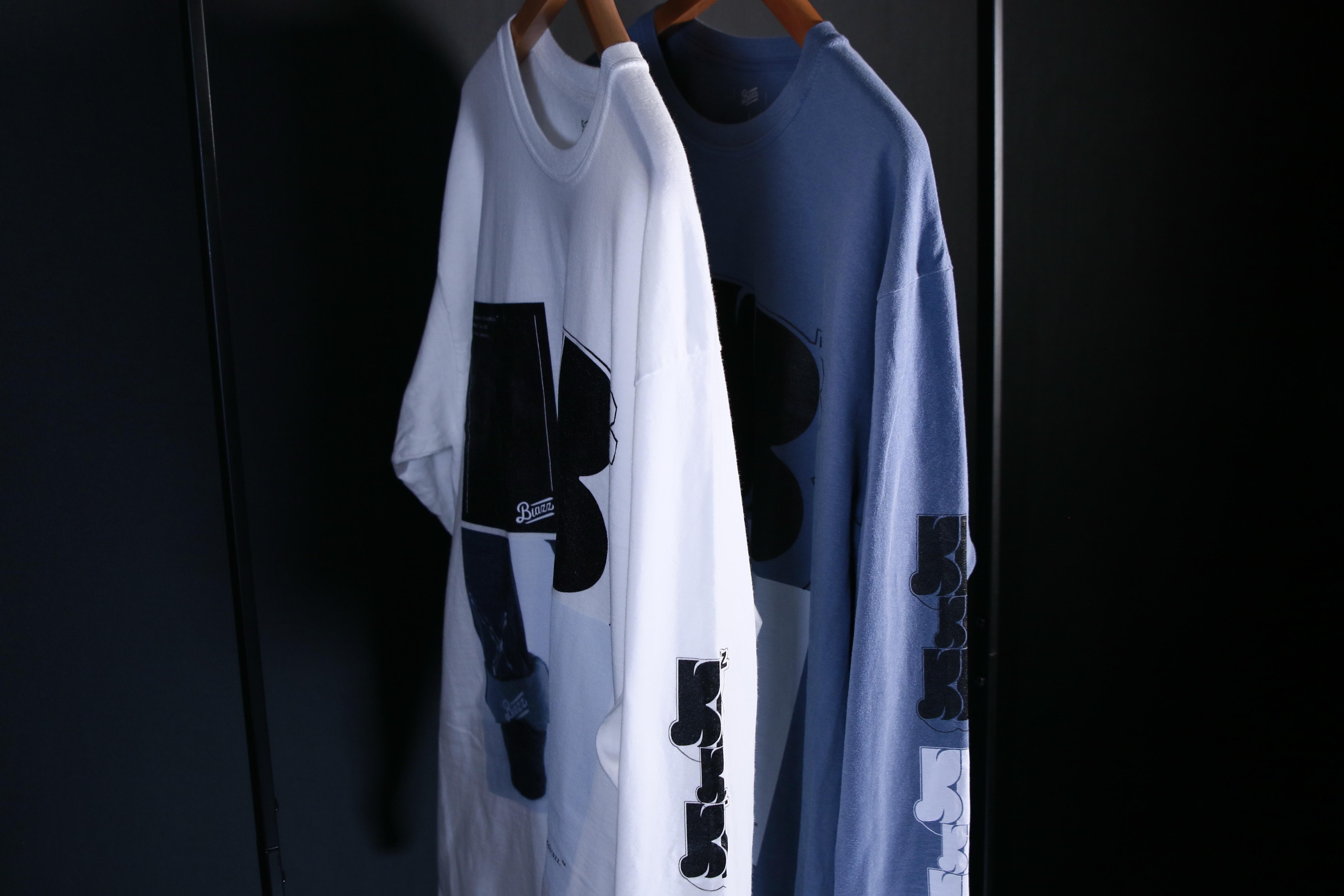 KB VINTAGE BIG L/S TEE [BLUE]