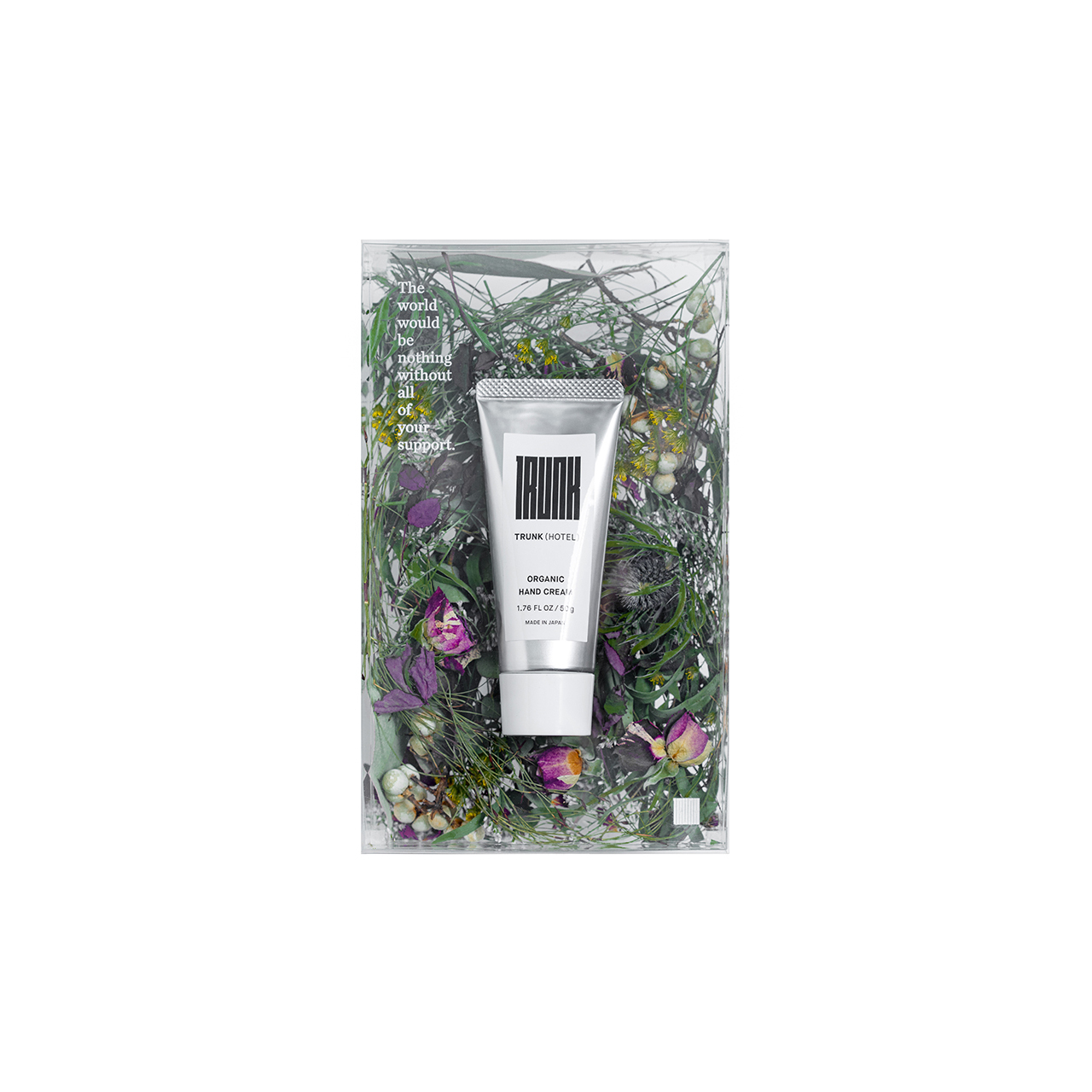 【Mother's Day】Dried Flower Box with TRUNK Organic Hand Cream