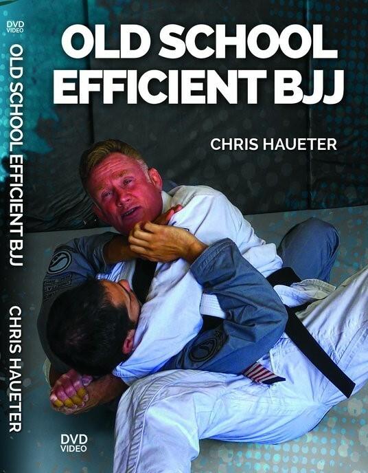 クリス・ハウター オールドスクール 効率的なBJJ DVD4枚セット